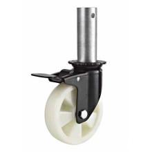 PP Med-Heavy Duty Threaded Stem Trolley Caster Wheels (KMHX5-1-MH2)