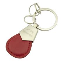 Kundenspezifischer PU-Leder-Schlüsselanhänger mit Honda Logo (F3045)