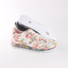 Women Shoes Fashion Leisure Comfort Shoes with Transparent Outsole (SNC-64030)