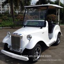 Os melhores carros do poder do gás do seater do carro de golfe 6 do vintage da movimentação da roda do projeto 4