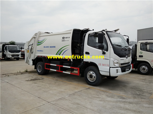 102HP Garbage Collection Trucks