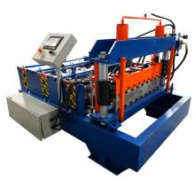 xn Dachboden Deck Roll Formmaschine / Farbe Stahl geschwungene Dachziegel machen Maschinen / geschwungene Blechherstellung Ausrüstung