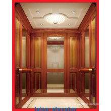 Ascenseur de passager de petite salle de machine avec fonction de dispositif de sauvetage automatique