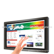 46-inch LCD Touch Screen Monitor with IR Multiple 6 Points Touch, Commercial Grade, LED Backlight
