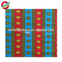 la cera africana 100% del algodón de la mejor calidad hermosa imprime la tela
