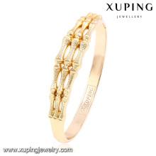 51504 Xuping Damen stylischer Knochenform-Legierungsarmreif für Mädchen