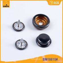 Botón de presión rápida BM10810 del botón del botón de la calidad