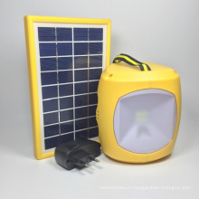 Ebst-D08b-02 Green Energy Portable 4.5ah Lanterne de camping solaire