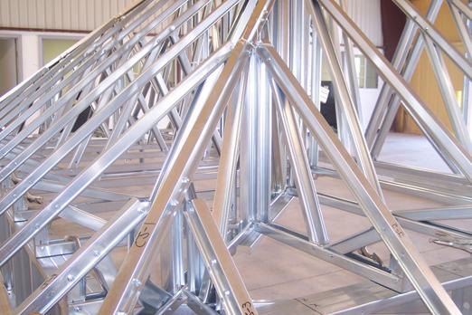 Steel Roof Truss 001