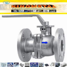 API 6D CF8/CF8m Stainless Steel Trunnion 2 PC Ball Valve