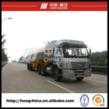 Tanque de GLP Semi remolque transporte Gas licuado de petróleo