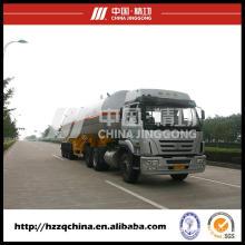 LPG Tank Semi Trailer Transport Liquefied Petroleum Gas