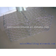 Anping weaving Galvanized gabion basket price