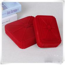 Boîte d'emballage de bijoux rouge