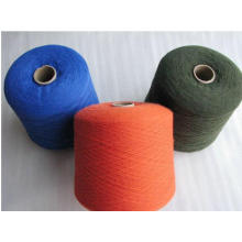 Nm2/26 100% pure cashmere knitted yarn wholesale in China factory