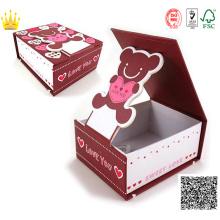 Alta calidad personalizada caja de regalo rígida