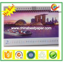 Бренд-дракон бумага c1s, бумага доски цвета слоновой кости для изготовления календаря