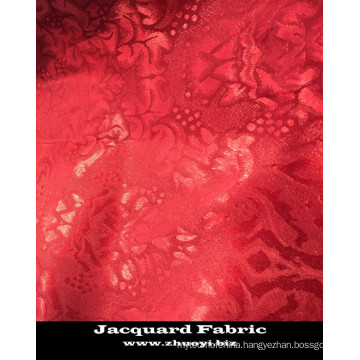 2cm jacquard embossed 100% polyester microfiber fabric