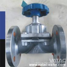 Weir Handwheel Threading / NPT Cast Iron / Fundición gris hierro Gg25 Diaphragm Valve