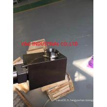 Vanne à aiguille en acier inoxydable avec fin de soudure boutonnée