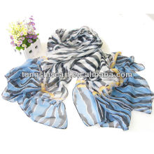 fashion zebra-stripe scarf