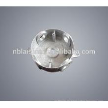 Kundenspezifische Zink / Zamak Legierung Aluminiumlegierung Lampenschirm u. Abdeckung