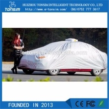 Automatic 3 layers Extra Heavy Duty waterproof car shelters car accessories auto canvas car covers