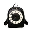 Fashion Ladies Watch Daypack Noval Colok PU Backpack Wzx1178