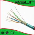 4pr 24AWG LAN Kabel FTP Cat5e Kabel mit ISO / Ce / RoHS