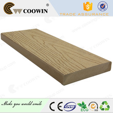 Plank road best quality special waterproof wpc solid decking---resist to cracking