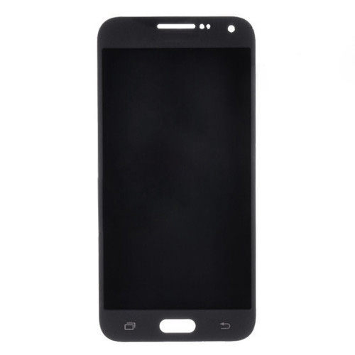 e5 screen black
