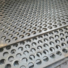 316 Perforated stainless steel sheet