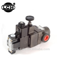yuken type hydraulic high solenoid remote pressure valve