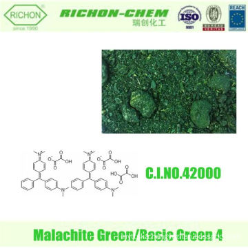 Leather Dyestuffs Paper Dyestuffs Textile Dyestuffs CI 42000 OXALATE SALT basic green Crystals Malachite Green Powder