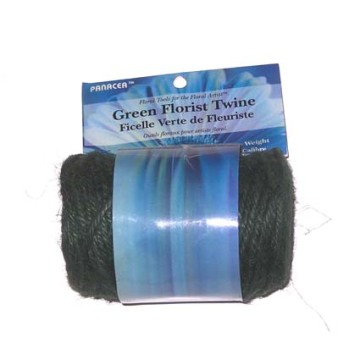 플로리스트 Jute Twine Natural Green 200ft