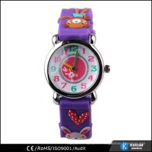 Precio del reloj del cabrito de la historieta, reloj en fábrica de Shenzhen