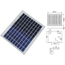 Module solaire polycristallin de Panelpv de 9V 12V 18W 8W 10W 12W avec l'OIN de TUV approuvé