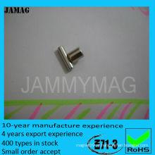 Diametralmente magnetizado ndfeb ímã cilindro