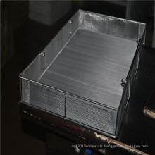 Panier à frites en treillis métallique en acier inoxydable
