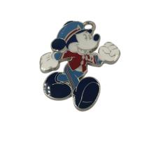 Venta al por mayor Disney Figure Mickey Mouce Metal Keychain