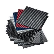 Customized diverse size high quality best price 3K twill plain weave carbon fiber sheet