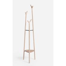 popular vertical type wood coat rack