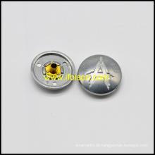 Legierung Snap Button mit einem logo
