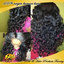 Заводская цена бразильские волосы фронта шнурка wig100% человеческих волос боковая часть парик фронта шнурка