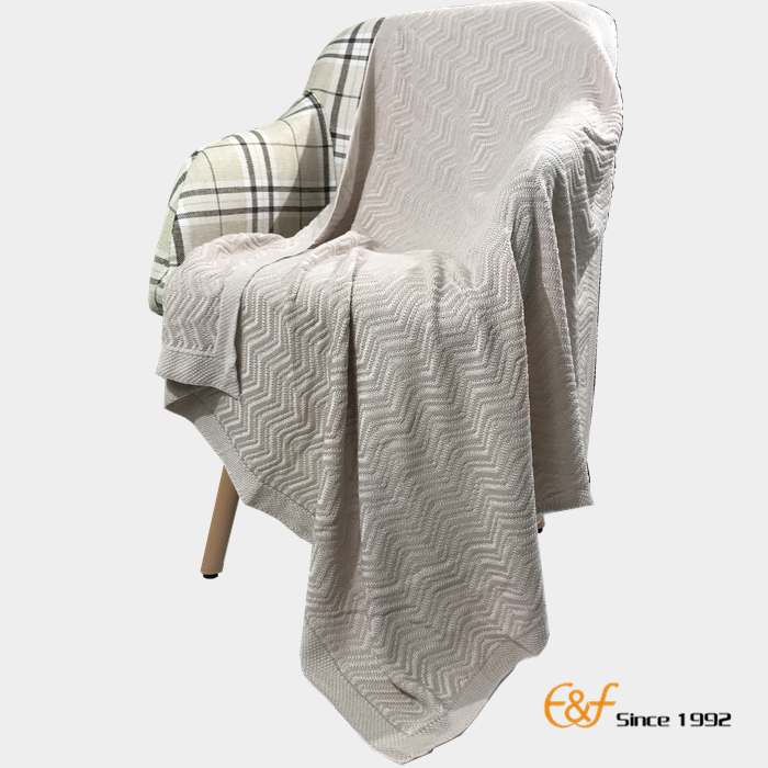 100% Organic Bamboo Muslin Baby Outdoor Travel Blanket For Sping And Summer