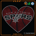 San Antonio Spurs rhinestone iron on transfer