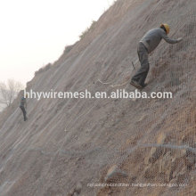 rock fall mesh protection system slope protection netting rockfall barrier mesh netting