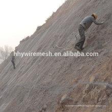 sistema de proteção de malha de queda de rocha sistema de proteção de inclinação rede de malha de barreira rockfall