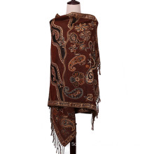 Pashmina Shawl Winter Scarf 196*90cm Large Size for Lady