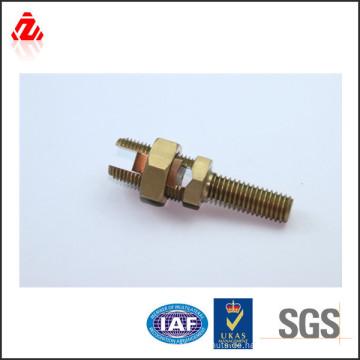 Elektrische Kabelverbindung Messing Bolzen Typ Stecker